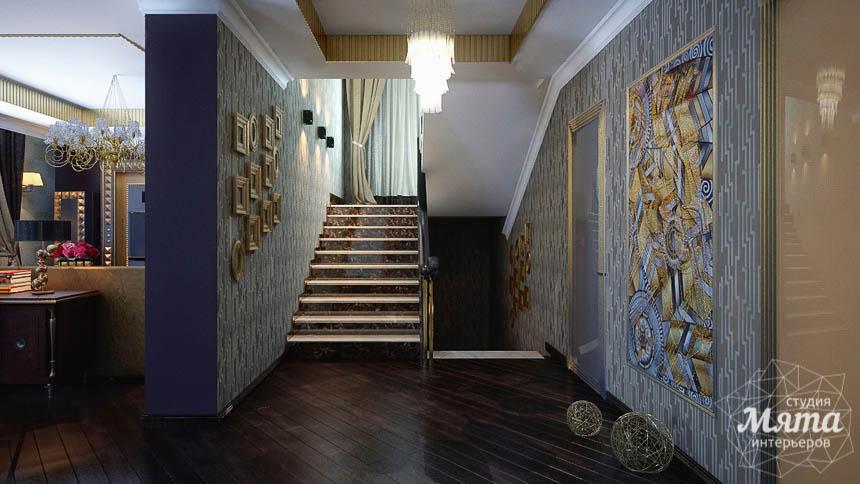 Дизайн интерьера коттеджа в Новосибирске  img1319518582