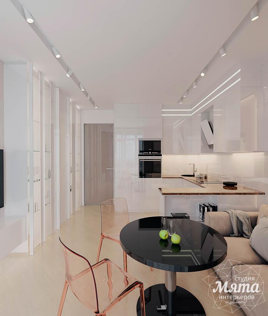 Дизайн интерьера однокомнатной квартиры в ЖК Крылов (1 очередь) img1992834355