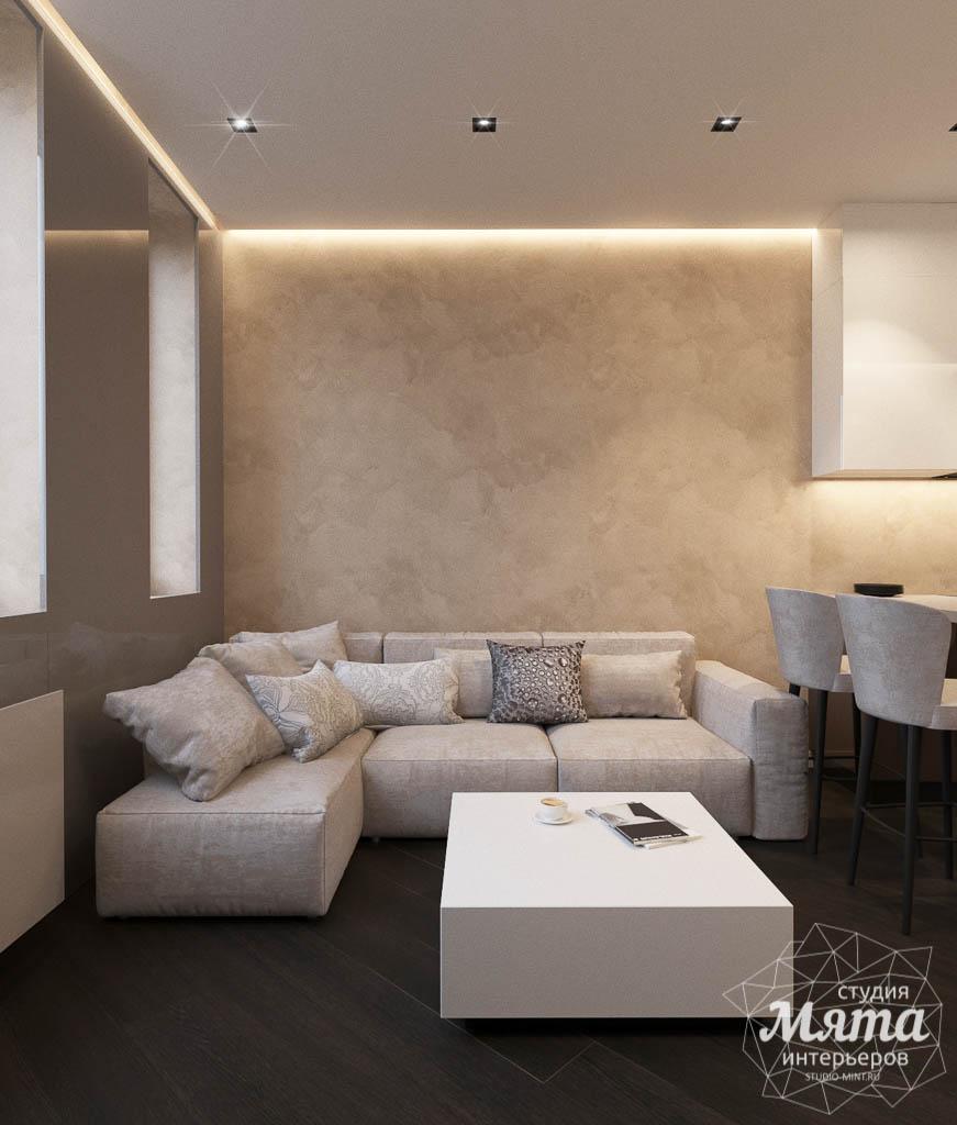 Дизайн интерьера однокомнатной квартиры в ЖК Крылов (2 очередь) img1238697312