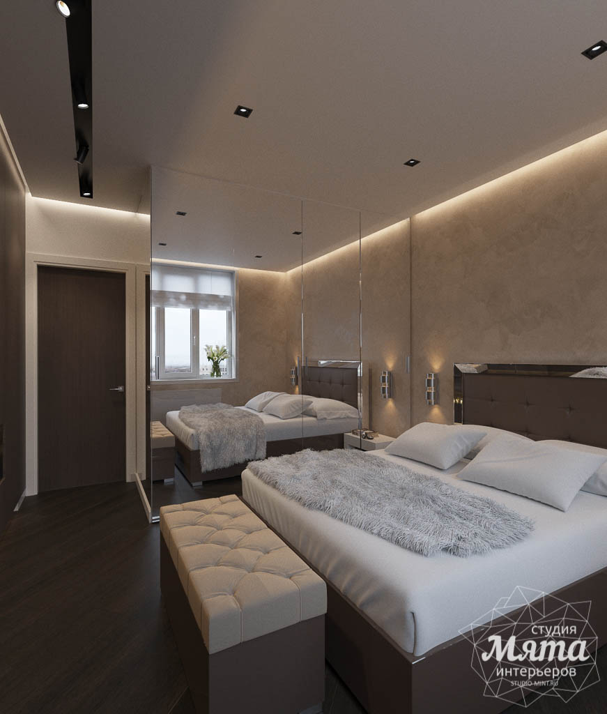 Дизайн интерьера однокомнатной квартиры в ЖК Крылов (2 очередь) img1666754563