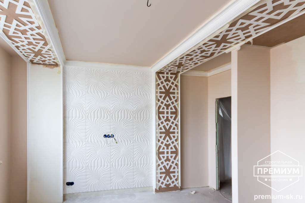 Дизайн интерьера и ремонт трехкомнатной квартиры по ул. Татищева 49 78