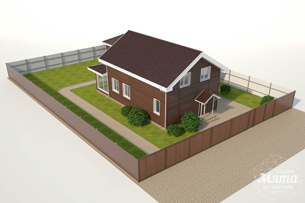 Дизайн фасада коттеджа в КП Алые Паруса img1404762011