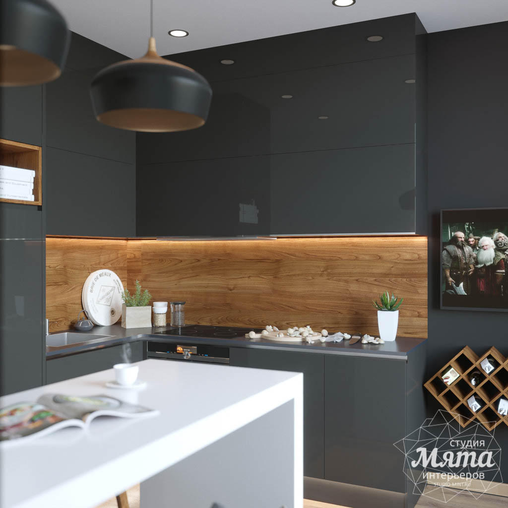 Дизайн интерьера однокомнатной квартиры в ЖК Чемпион Парк img129454271