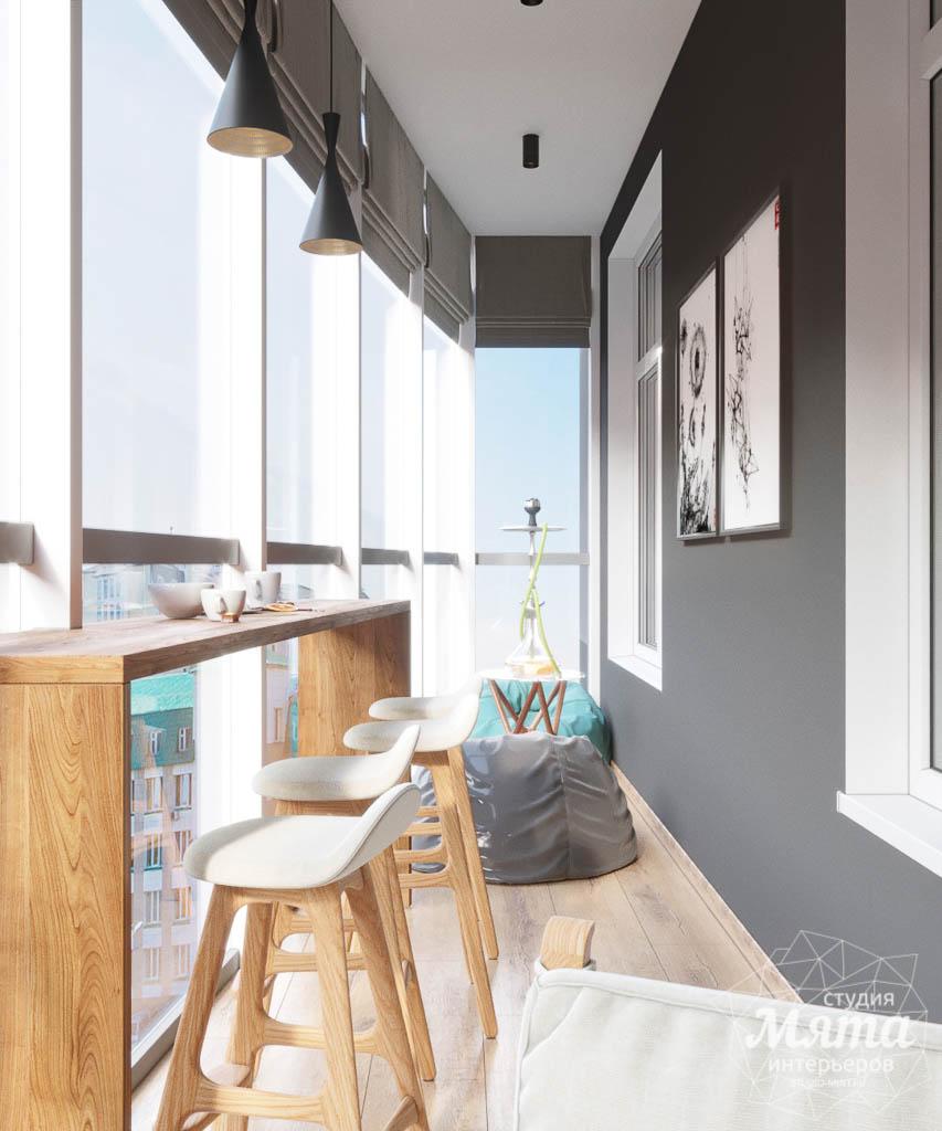 Дизайн интерьера однокомнатной квартиры в ЖК Чемпион Парк img494501095