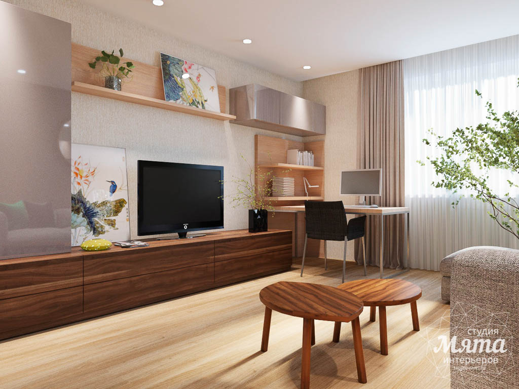 Дизайн интерьера трехкомнатной квартиры по ул. Куйбышева 102 img1087307022