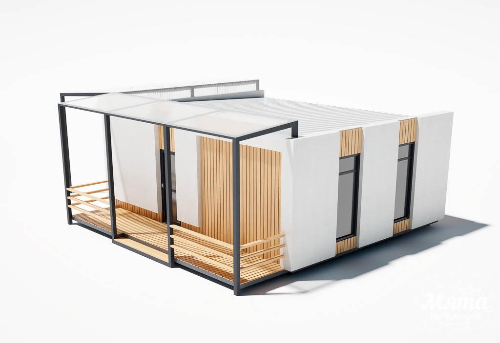 Дизайн фасада модульного дома в п. Новое Созвездие img1912907136