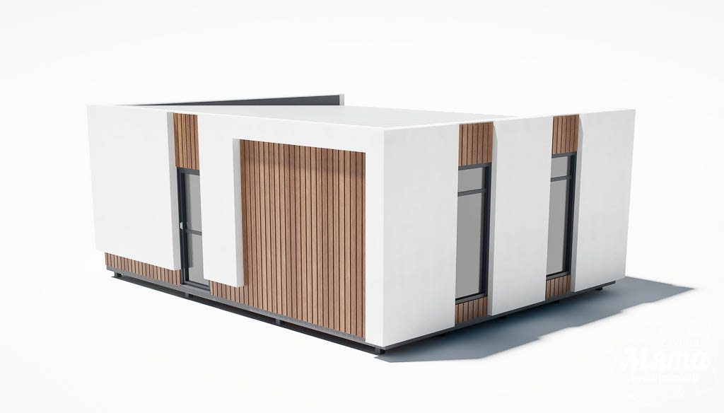 Дизайн фасада модульного дома в п. Новое Созвездие img1086453527