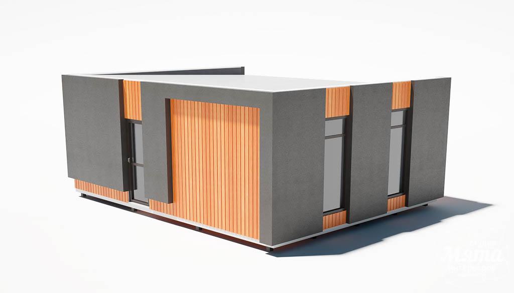 Дизайн фасада модульного дома в п. Новое Созвездие img493057166