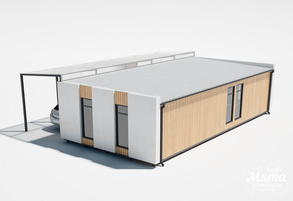 Дизайн фасада модульного дома в п. Новое Созвездие img1185554441