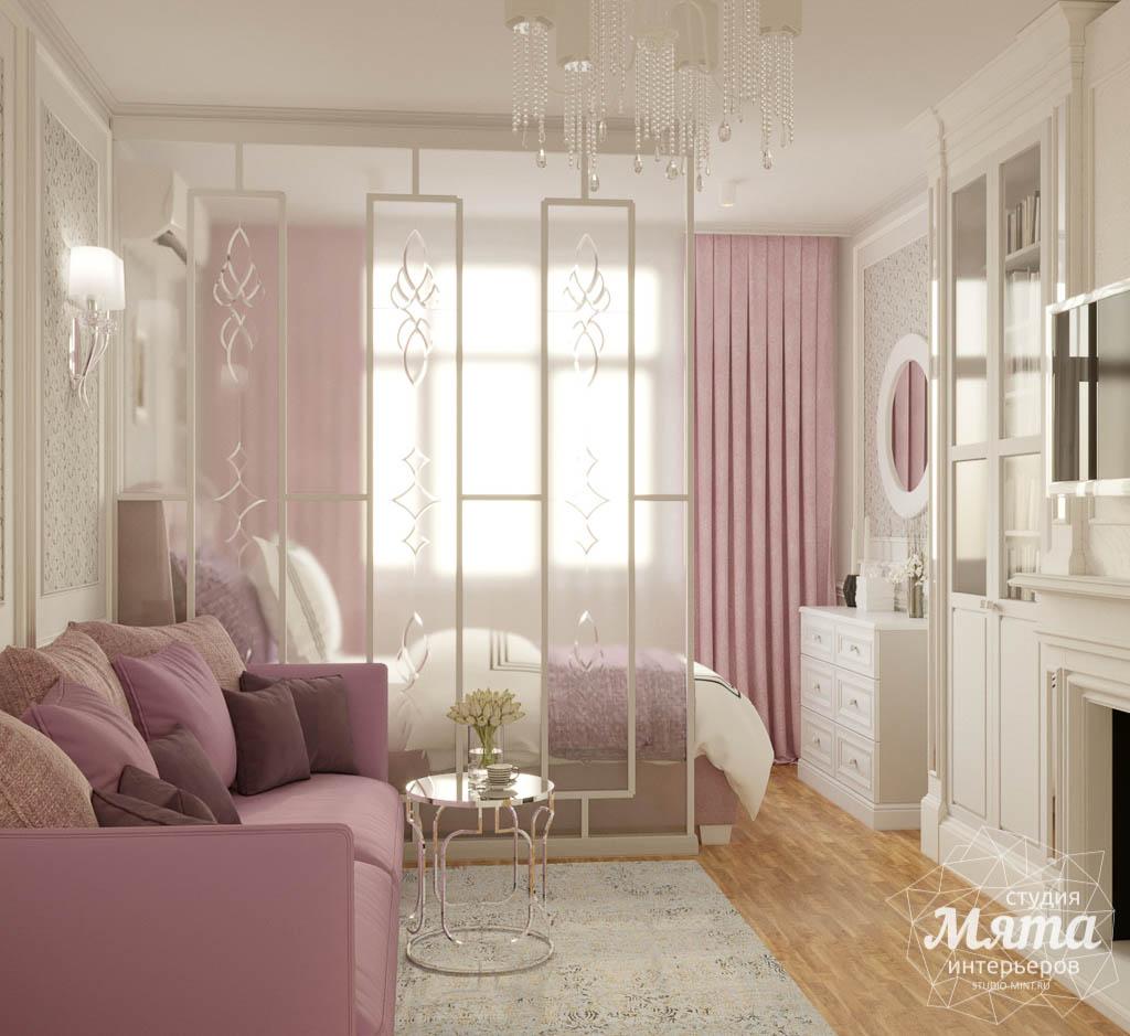 Дизайн интерьера однокомнатной квартиры ЖК Солнечный Остров img2014822847