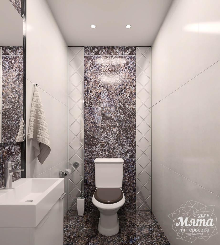 Дизайн интерьера трехкомнатной квартиры в ЖК Малевич img240822345