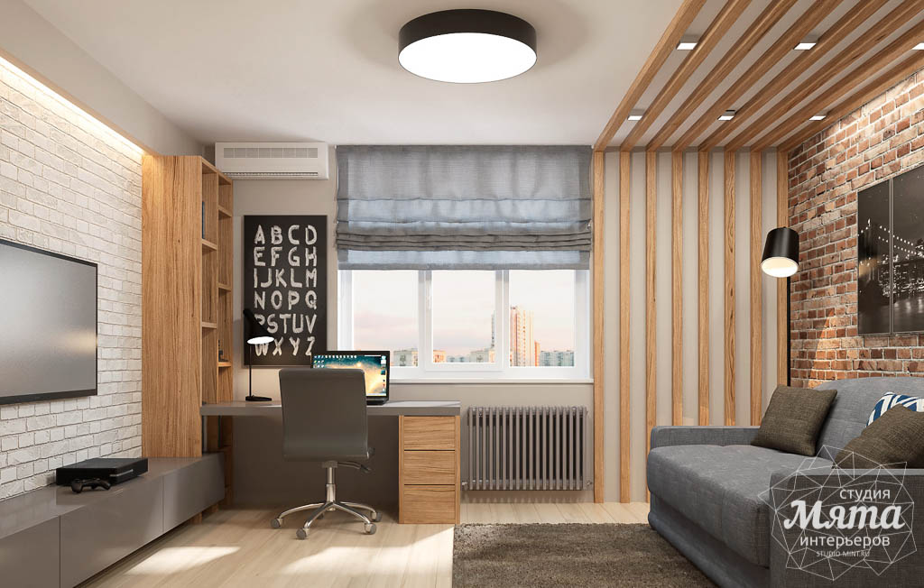 Дизайн интерьера трехкомнатной квартиры в ЖК Малевич img732404264