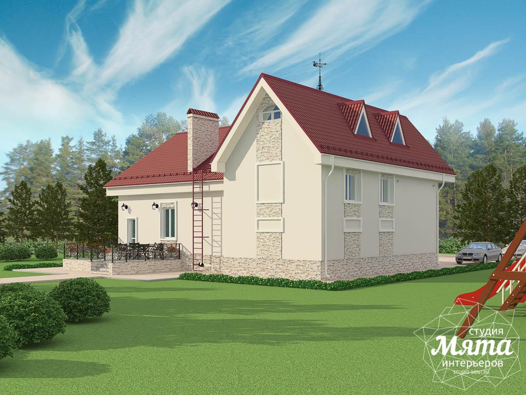 Дизайн фасада коттеджа 195 м2 в Москве img1717255206