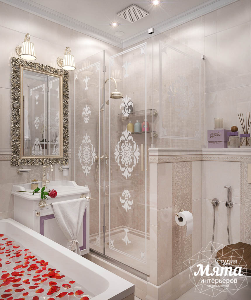 Дизайн-проект двухкомнатной квартиры в ЖК Чемпион Парк img1626548770