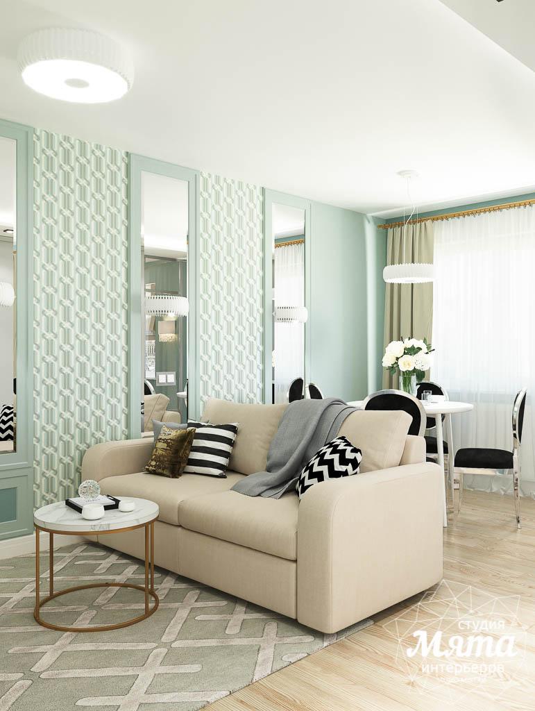 Дизайн интерьера однокомнатной квартиры пер. Встречный д. 5 img556957933