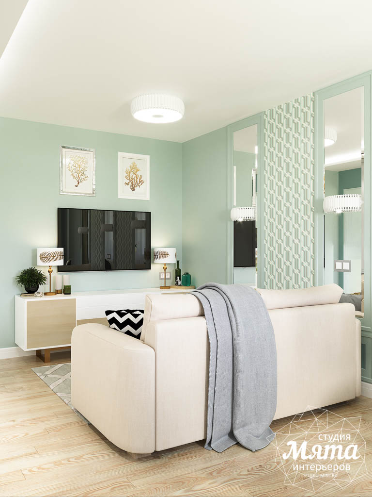 Дизайн интерьера однокомнатной квартиры пер. Встречный д. 5 img1309268256