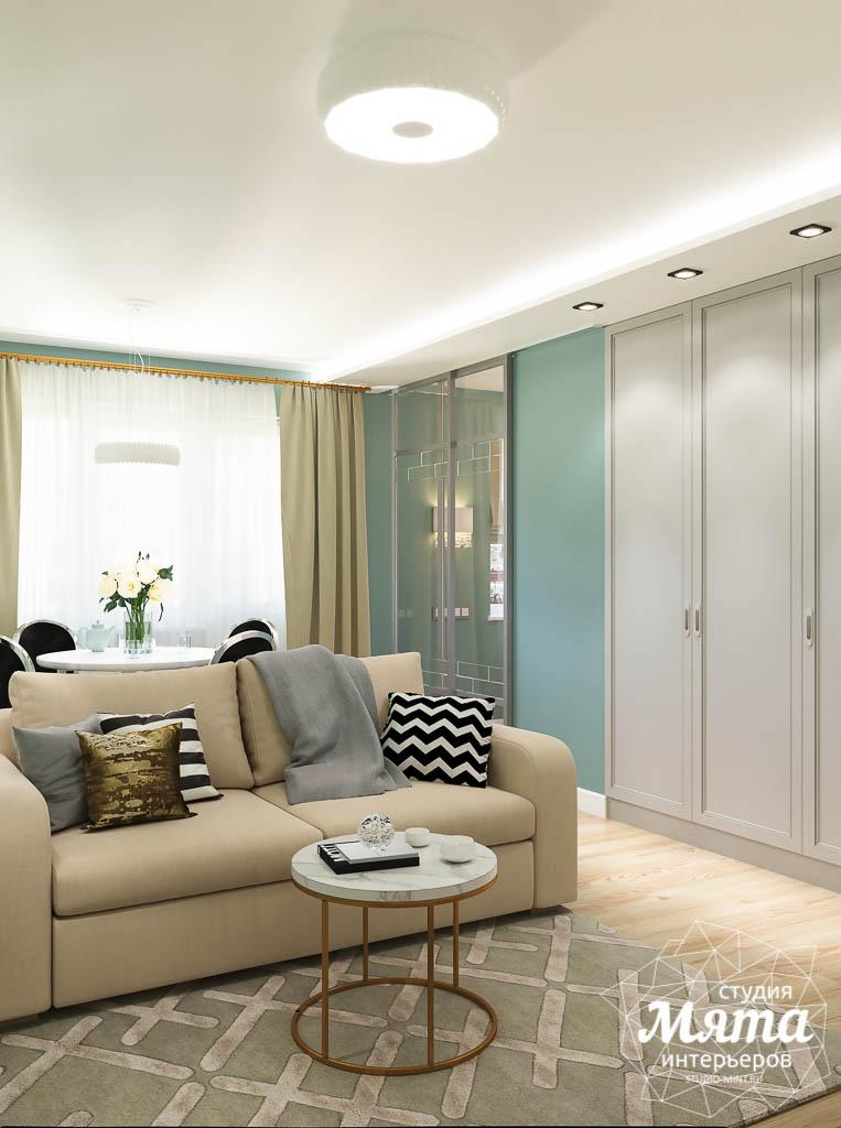 Дизайн интерьера однокомнатной квартиры пер. Встречный д. 5 img2061810639