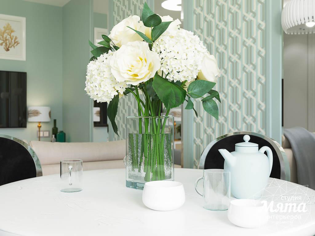 Дизайн интерьера однокомнатной квартиры пер. Встречный д. 5 img1020290296