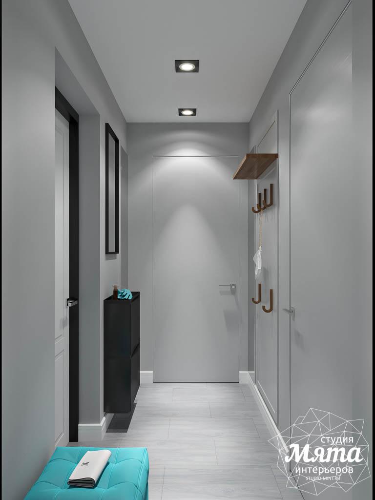 Дизайн интерьера однокомнатной квартиры пер. Встречный д. 5 img572584685