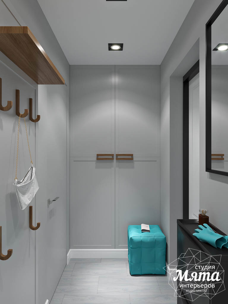 Дизайн интерьера однокомнатной квартиры пер. Встречный д. 5 img104097036