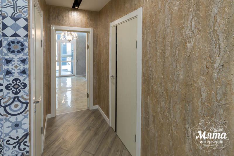 Дизайн интерьера и ремонт трехкомнатной квартиры по ул. Татищева 49 58