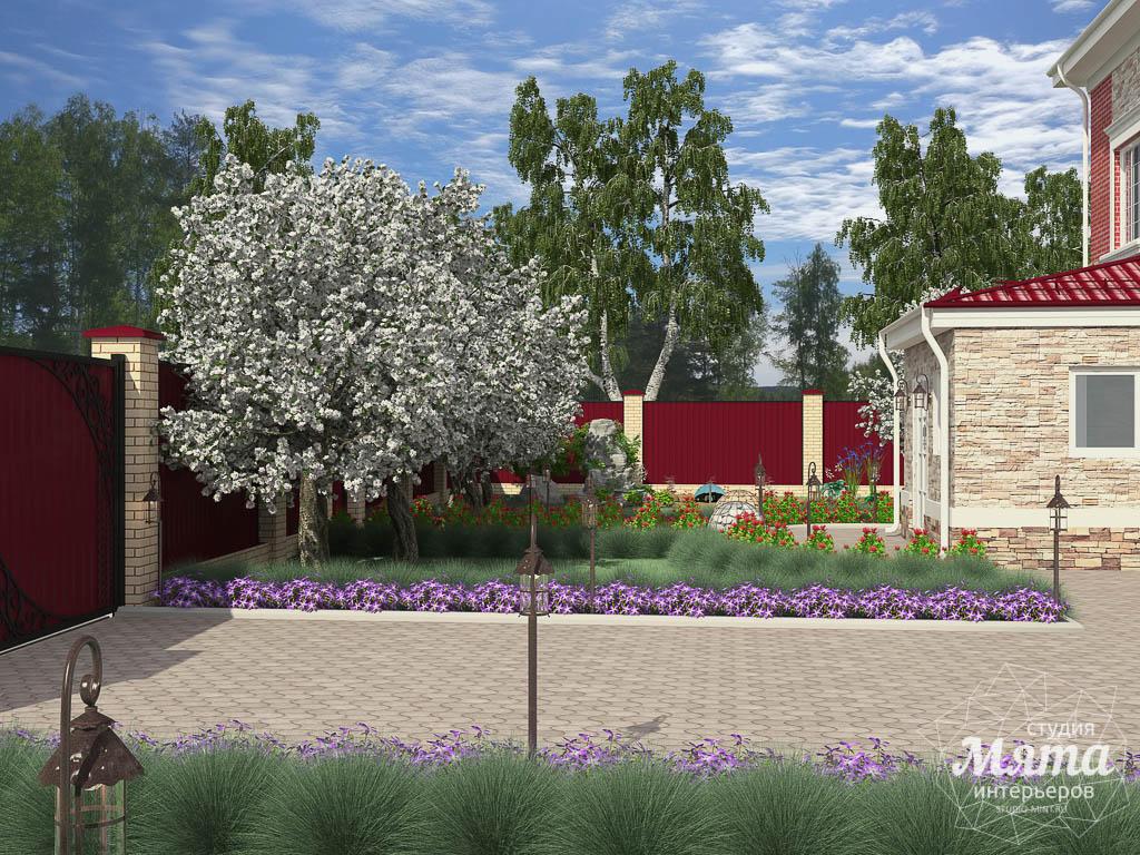 Дизайн фасада дома 532 м2 и бани 152 м2 г. Арамиль img2012906038