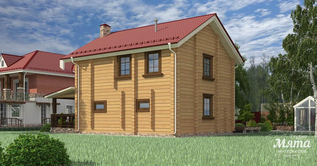 Дизайн фасада дома 532 м2 и бани 152 м2 г. Арамиль img1619815656