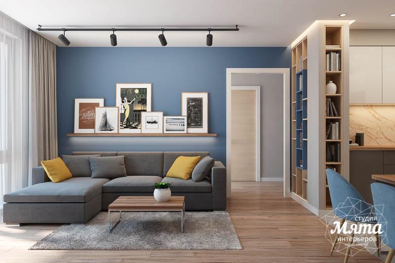 Дизайн интерьера двухкомнатной квартиры в ЖК Солнечный img200847517
