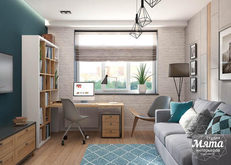 Дизайн интерьера четырехкомнатной квартиры по ул. Блюхера 45 img3665267