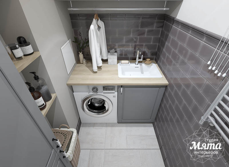 Дизайн интерьера прачечной комнаты квартиры в ЖК Менделеев img1244063384