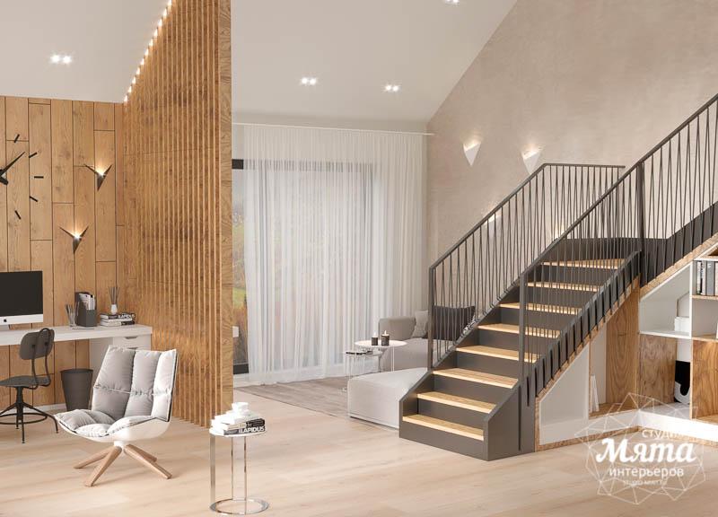 Дизайн интерьера гостиной в коттедже в г. Алапаевск img452845628