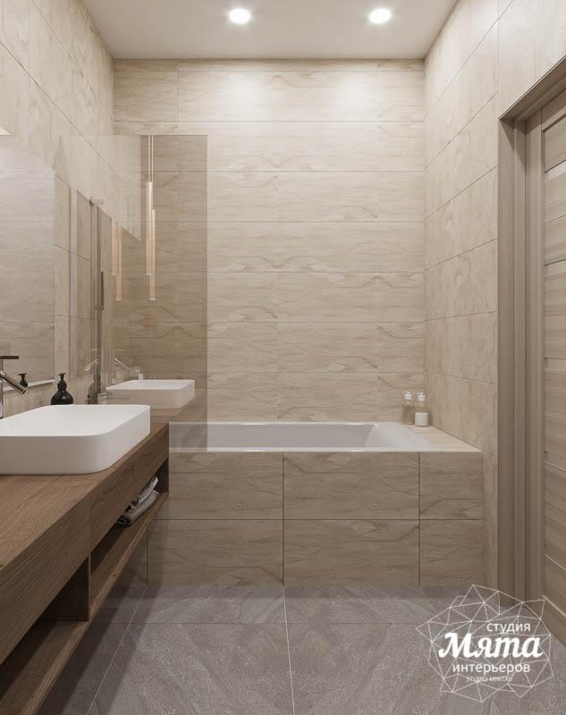 Дизайн интерьера ванных комнат двухуровневой квартиры в ЖК Современник img1191516122