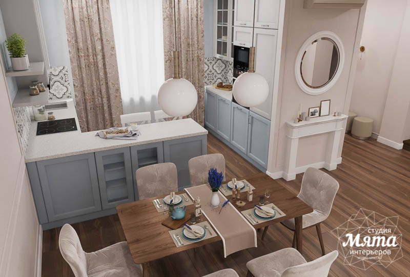 Дизайн интерьера первого этажа таунхауса в п. Палникс img705918515