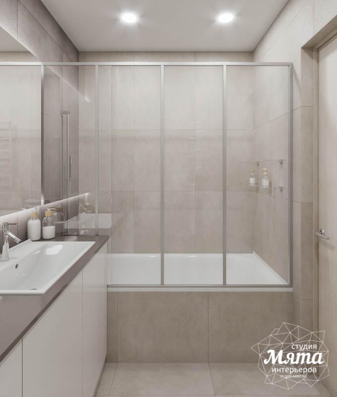 Дизайн интерьера трехкомнатной квартиры в ЖК Дом у пруда ... img357040181