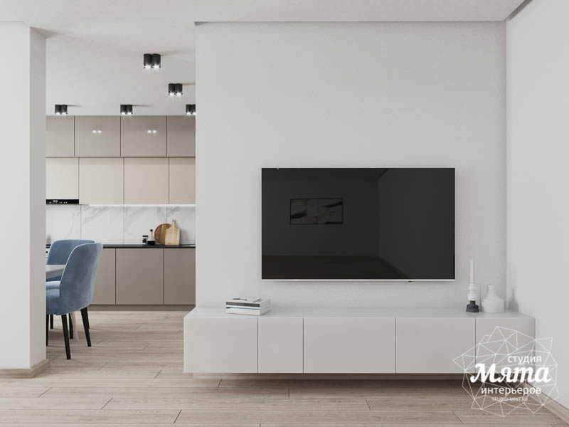 Дизайн интерьера трехкомнатной квартиры в ЖК Дом у пруда ... img120170854
