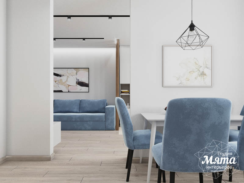 Дизайн интерьера трехкомнатной квартиры в ЖК Дом у пруда ... img470426402