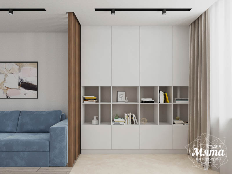 Дизайн интерьера трехкомнатной квартиры в ЖК Дом у пруда ... img968913071