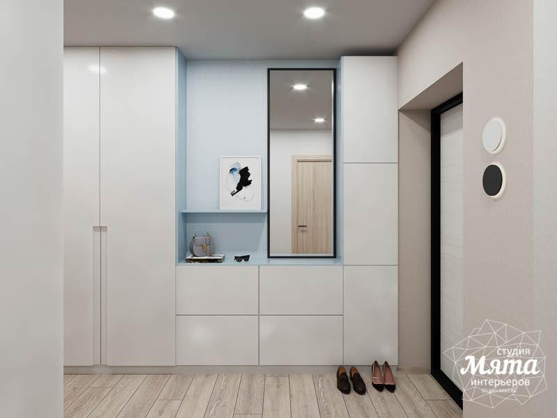 Дизайн интерьера трехкомнатной квартиры в ЖК Дом у пруда ... img484068941