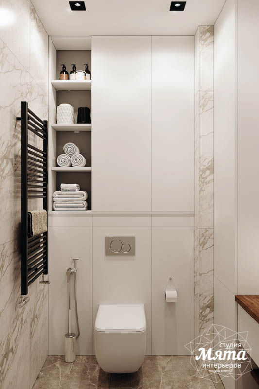 Дизайн интерьера трехкомнатной квартиры в ЖК Чемпион Парк img56054542