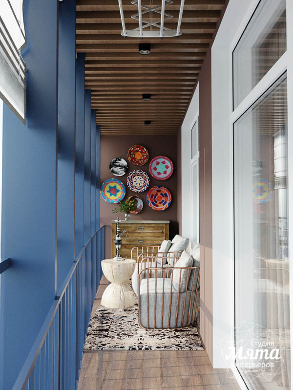 Дизайн интерьера трехкомнатной квартиры в ЖК Чемпион Парк img294839857