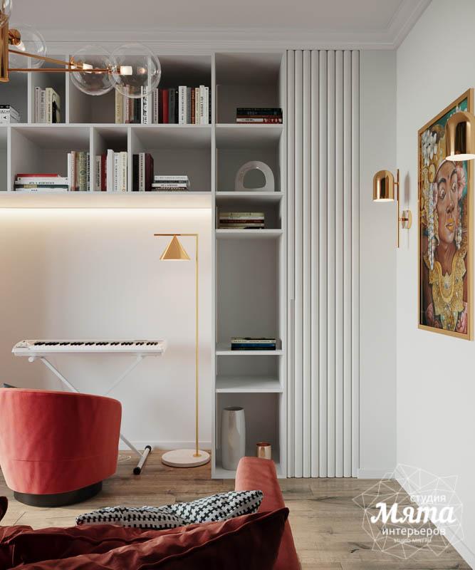 Дизайн интерьера трехкомнатной квартиры в ЖК Чемпион Парк img1203008081