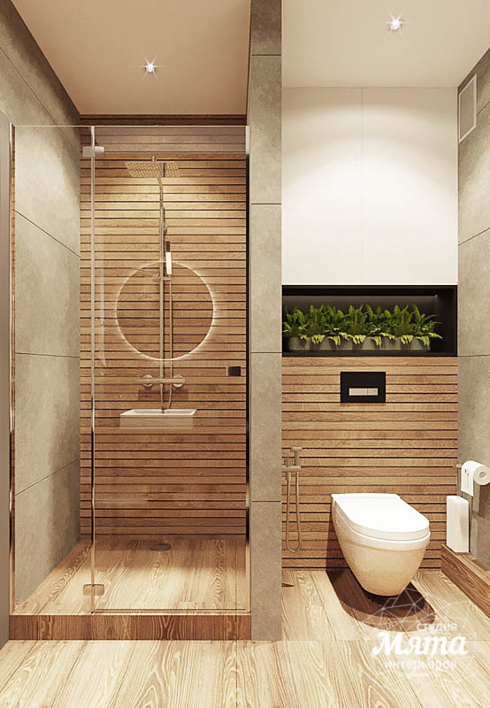 Дизайн интерьера квартиры - студии в ЖК Гринвуд img382065410