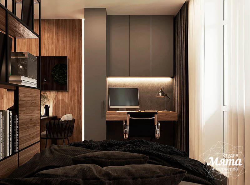 Дизайн интерьера квартиры - студии в ЖК Гринвуд img1840579839