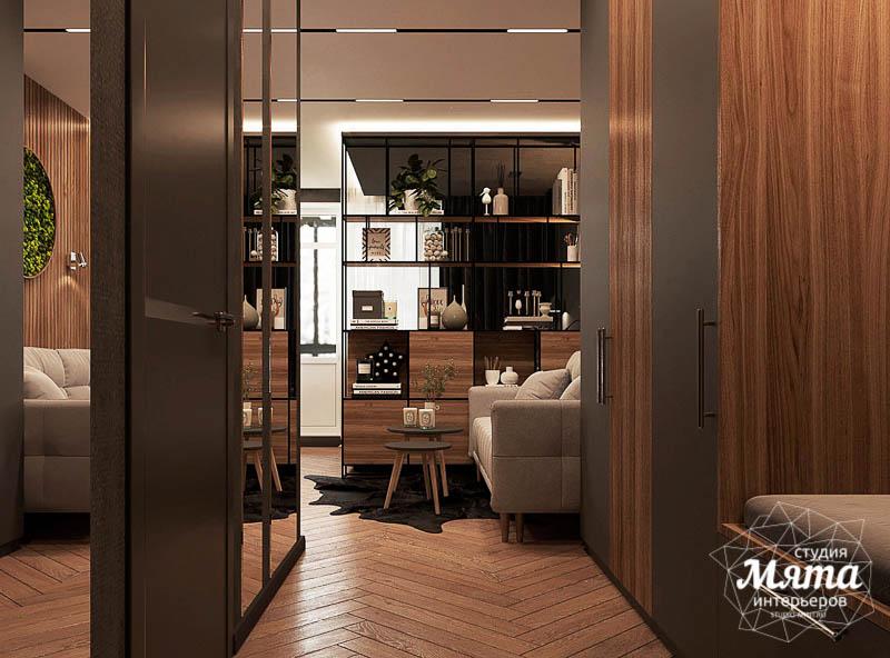 Дизайн интерьера квартиры - студии в ЖК Гринвуд img1628458918