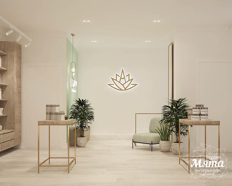Дизайн интерьера магазина корейской косметики img650596352