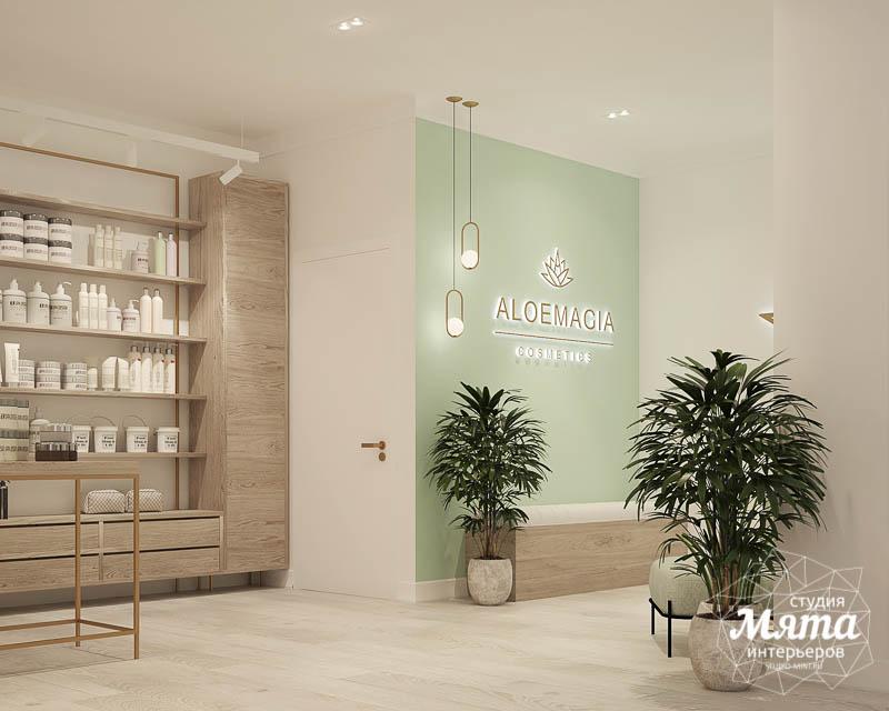 Дизайн интерьера магазина корейской косметики img623844747