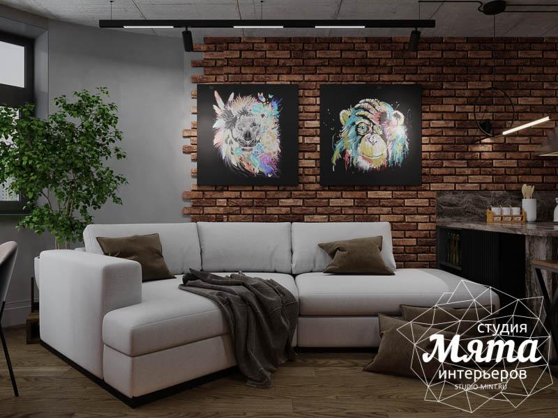 Дизайн интерьера квартиры в стиле лофт img1806324280
