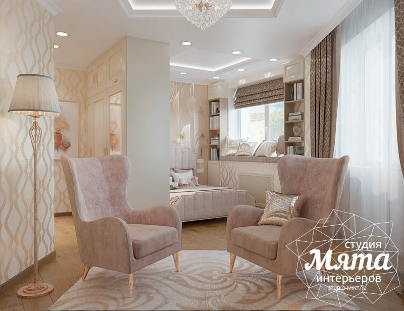 Дизайн интерьера однокомнатной квартиры, ул.Рощинская  img649109380