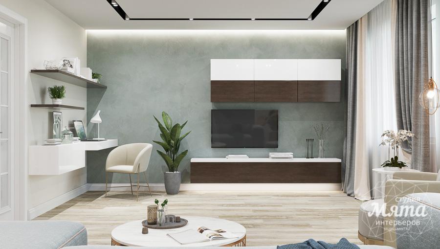 Дизайн интерьера трехкомнатной квартиры в современном стиле, ул. Репина 17а img144833995