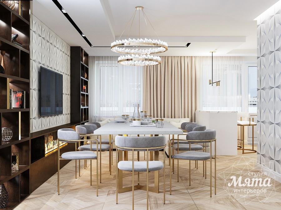 Дизайн интерьера трехкомнатной квартиры в современном стиле, ул. Репина 17а img26954698